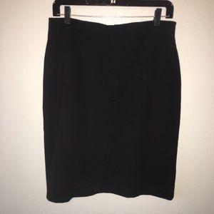 Women's size 10 black skirt